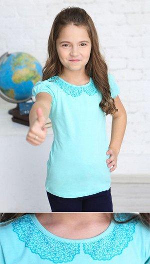 Джемпер 62457 для девочки голубой
