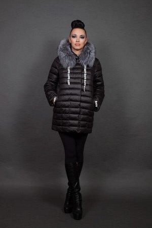 Куртка женская зимняя 6128 натуральный мех