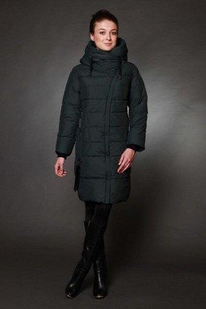 Куртка женская зимняя 1775 изумруд