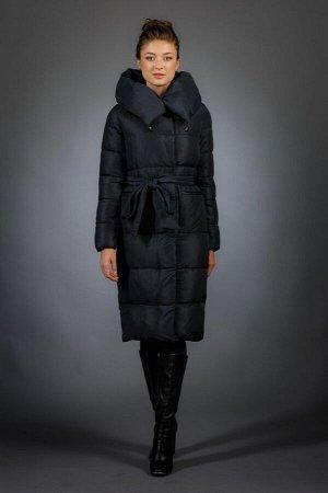 Женская куртка зимняя 186 темно-синий