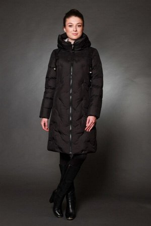 Куртка женская зимняя 17063 черный