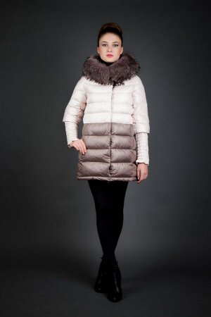 Куртка женская зимняя 77927 натуральный мех