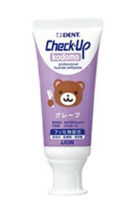 Lion Dent Check Up Kodomo детская зубная паста со фтором