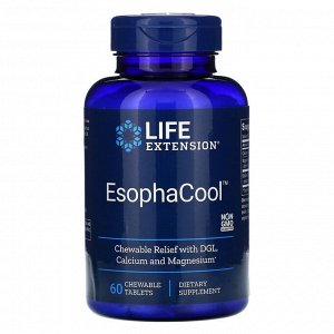 Life Extension, EsophaCool, 60 Chewable Tablets