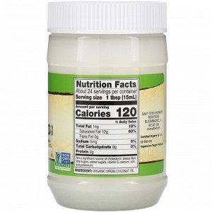 Now Foods, Real Food, органическое кокосовое масло первого отжима, 355 мл (12 жидк. унций)