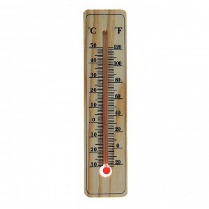 Термометр LuazON. уличный. спиртовой. дерево.