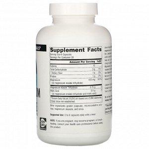 Source Naturals, Magnesium Malate, 3,750 mg, 200 Capsules