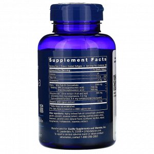 Life Extension, Super Omega-3 EPA/DHA Fish Oil, Sesame Lignans & Olive Extract, 60 Enteric Coated Softgels
