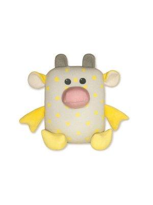 """Антистрессовая игрушка """"Бык Кроха"""",желтый"""