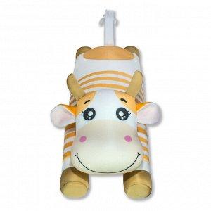 "Антистрессовая игрушка ""Корова Матроска"",желтый"