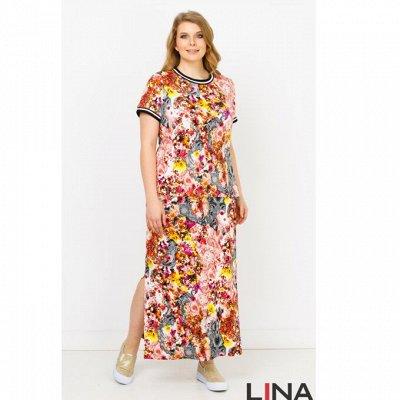 Женская одежда L*I*N*A -103.  Размеры 48-64. Акция лета. — Лето. Скидки. Размеры 46-64 — Платья