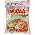 Лапша тайская ТМ Мама со вкусом креветки Том Ям брикет 60 гр