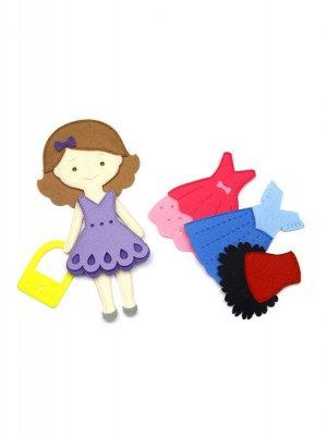 Игровой набор Одень куклу. Маленькая модница