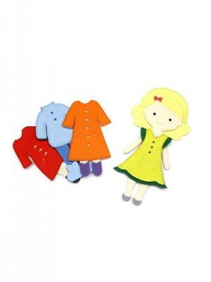Игровой набор Одень куклу. 4 сезона