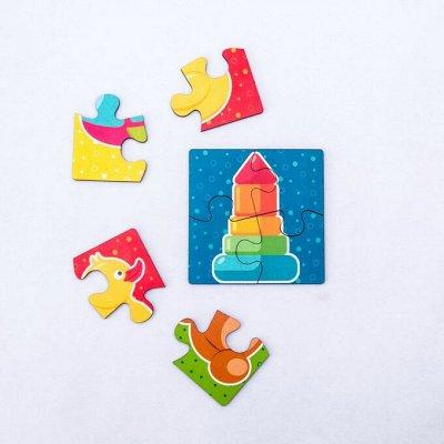 Развивайка-обучайка деткам! Мега выбор развивающих игрушек! — Пазлы для малышей — Конструкторы и пазлы