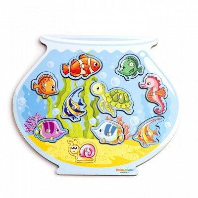 Развивайка-обучайка деткам! Мега выбор развивающих игрушек! — Магнитная рыбалка — Деревянные игрушки