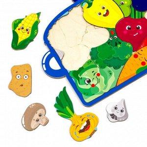 Пазл-головоломка «Кастрюля с овощами», 137105