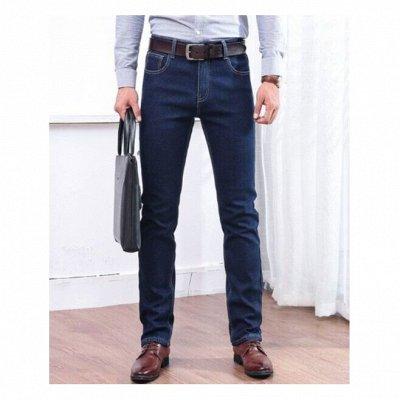 👖Брюки, джинсы женские и мужские 👖Цена - класс! 👖 — Мужские утепленные джинсы — Прямые джинсы