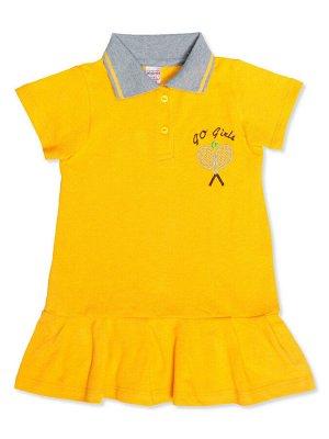 Платье-поло для девочки