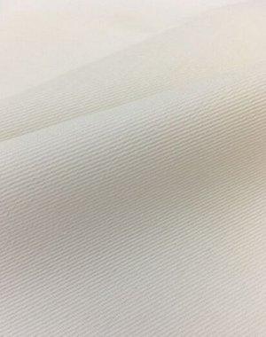 Саржа цв.Белый, ВИД2, СОРТ2, ш.1.5м, хлопок-100%, 260гр/м.кв