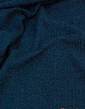 Ткань пальтовая шерстяная, цв. Темно-синий, ш. 1.5 м, шерсть-87%, ПА-13%