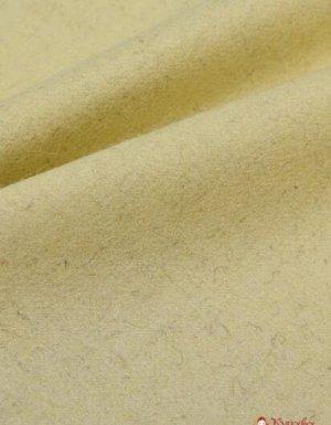 Ткань шерстяная, цв.Молочный, ш.1.4м, шерсть-80%, ПА-20%, 681гр/м.кв