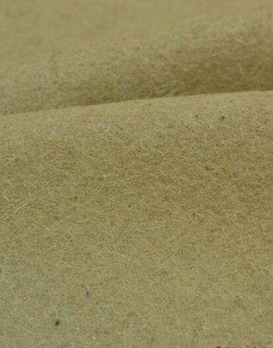 Ткань шерстяная, цв.Бежевый с зеленым оттенком, ш.1.4 м, шерсть-87%, ПА-13%,590 гр/м.кв