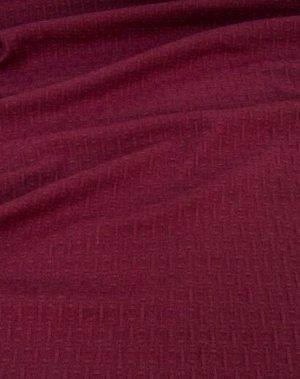 Ткань пальтовая шерстяная, цв. Фуксия, ш. 1.5 м, шерсть-87%, ПА-13%