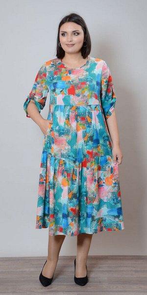 Платье П-657