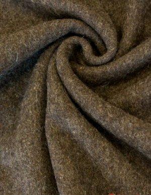 Сукно шинельное цв.коричневый, ш.1,42м, шерсть-90%, п/э-10%, 500гр/м.кв