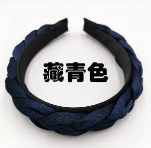 Ободок темно-синий