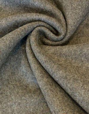 Сукно шинельное цв.серый, ш.1,4м, шерсть-92%, п/э-8%, 760гр/м.кв