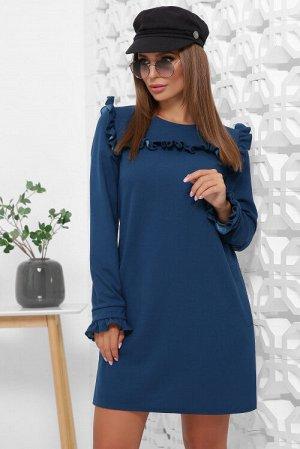Платье 1845 бирюзовый