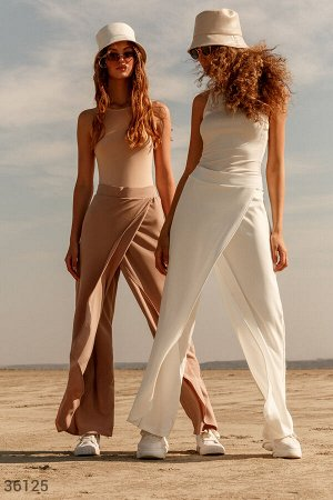 Белые брюки на запх