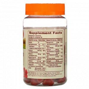 Sundown Naturals, Women&#x27 - s Multivitamin Gummies with Biotin, Raspberry Flavored, 60 Gummies