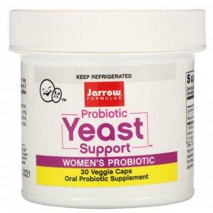 Jarrow Formulas, Probiotic Yeast Support, Women's Probiotic, 5 Billion, 30 Veggie Caps