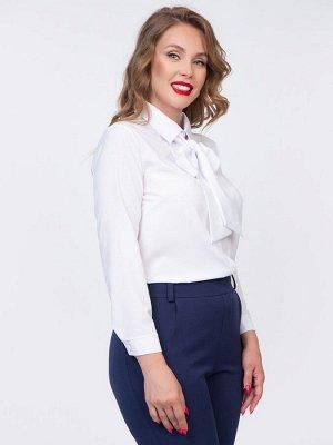 Рубашка Жаклин с бантом