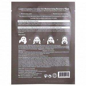 Leaders, Coconut Gel Moisturizing Recovery Mask, 1 Sheet, 30 ml