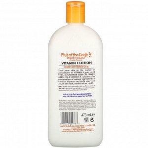 Fruit of the Earth, Vitamin E Skin Care Lotion, 16 fl oz (473 ml)