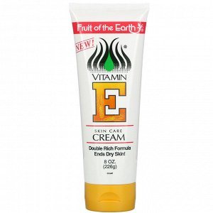 Fruit of the Earth, Vitamin E, Skin Care Cream, 8 oz (226 g)