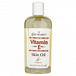 Cococare, Масло для кожи с витамином E, 120 мл