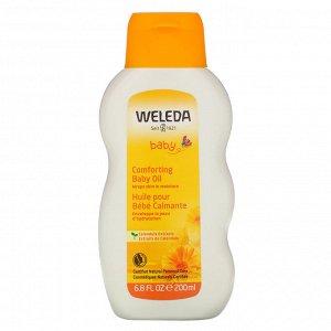 Weleda, Baby, Comforting Baby Oil, Calendula Extracts, 6.8 fl oz (200 ml)