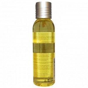 Nature&#x27 - s Baby Organics, Organic, массажное и детское масло, мандарин и кокос, 4 унции (113,4 г)