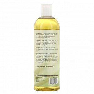 Life-flo, Чистое масло из виноградных косточек, 16 жидких унций (473 мл)
