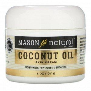 Mason Natural, Coconut Oil Skin Cream, 2 oz (57 g)