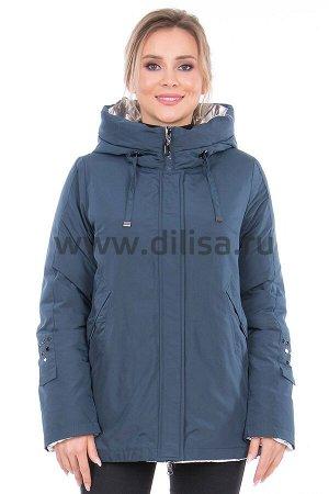 Куртка Lora Duvetti 18220_Р (Морская волна 474)