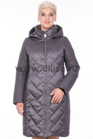 Пальто Mishele 20026_Р (Стальной FA25)