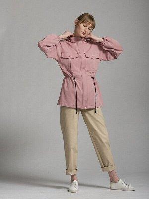 Куртка Цвет: Розовый.  Состав: Хлопок 92%, Эластан 8%