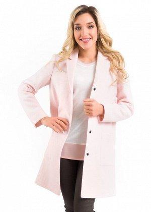 Пальто Описание: Пальто выполнено в стиле casual из полотна-букле пиджачного типа с большими накладными карманами, для удобства при носке по спинке имеется шлица. Остается дополнить пальто подходящим