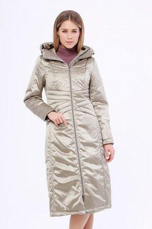 Пальто Описание: Уютное комфортное пальто на молнии с декоративной строчкой по талии. Карманы застегиваются на молнию. Удобный капюшон защитит от непогоды в межсезонье и создаст ощущение комфорта. Кап